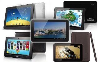 Новинки планшетов 2015 года