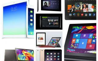 Рейтинг планшетов: цена качество, до 15000 рублей