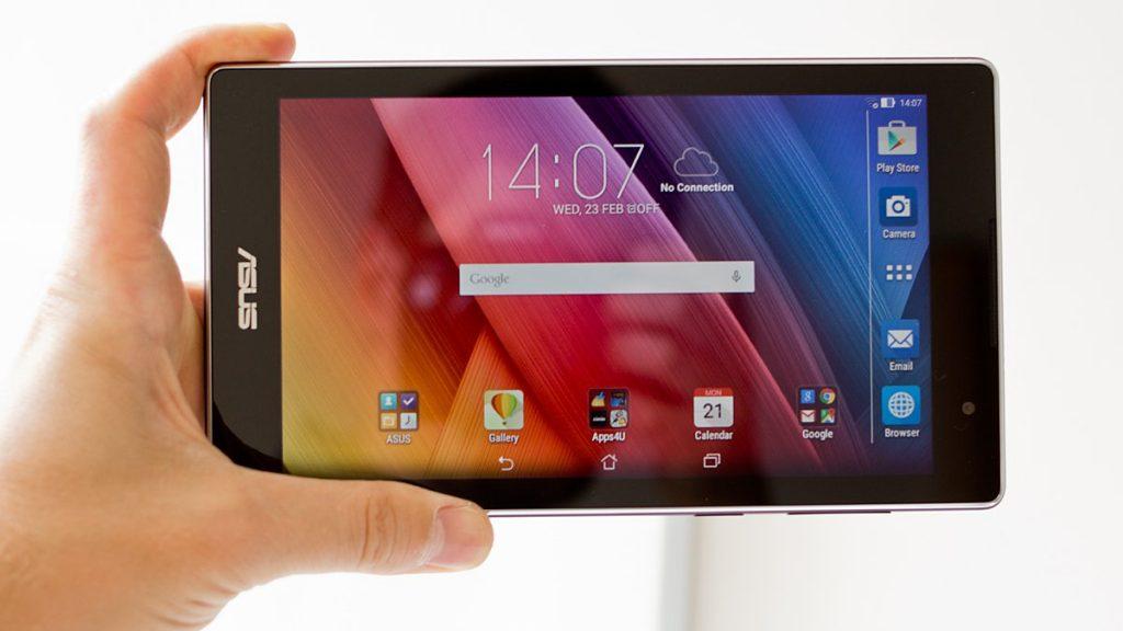 Вот так выглядит планшет в руках